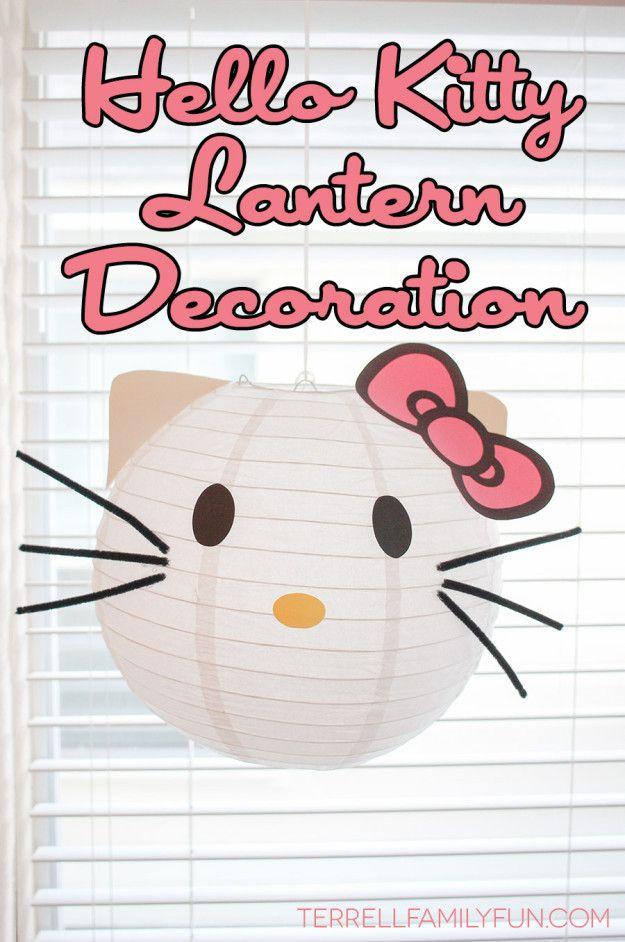 Hello Kitty Lantern Decorations