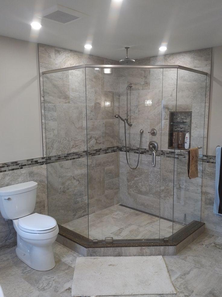 91 best caledon tile bathroom renovations images on pinterest for Custom bathroom renovations