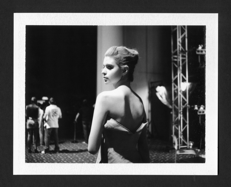 Ruth, backstage Isabel Henao