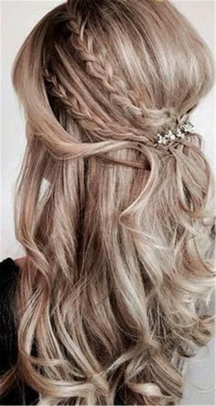 best wedding guest hair images on pinterest