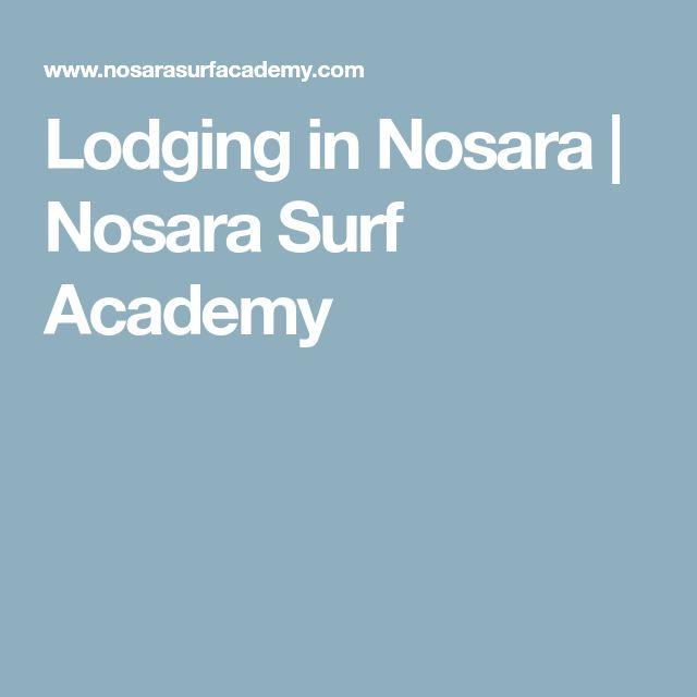 Lodging in Nosara | Nosara Surf Academy