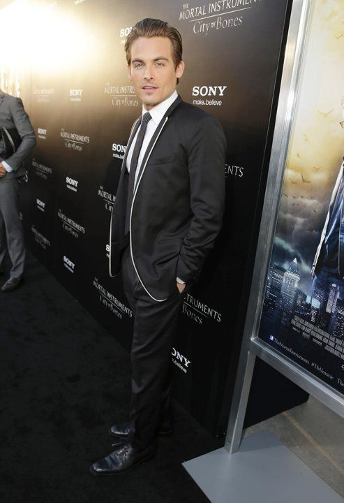 Kevin Zegers at the premiere of 'The Mortal Instruments: City of Bones'