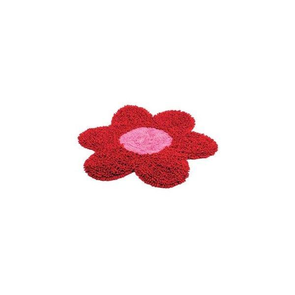 "Geschenke im Lucky Strike Trend Shop - Badematte ""Flower"". ❤ liked on Polyvore"