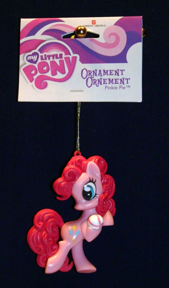 Charming American Greeting Christmas Ornaments Part - 7: Pinkie Pie - 2013-american Greetings Christmas Ornament-my Little Pony