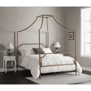 Bailey Brushed Copper Full-size Canopy Bed | Overstock.com Shopping - The Best Deals on Beds