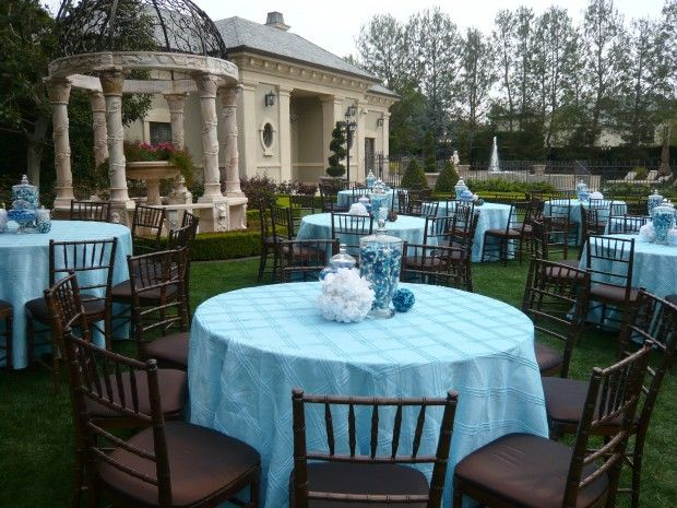 Baby Shower Ideas from famous event planner Cathy Riva | Shannon ...