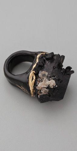 Adina Mills Design Black Tourmaline Ring