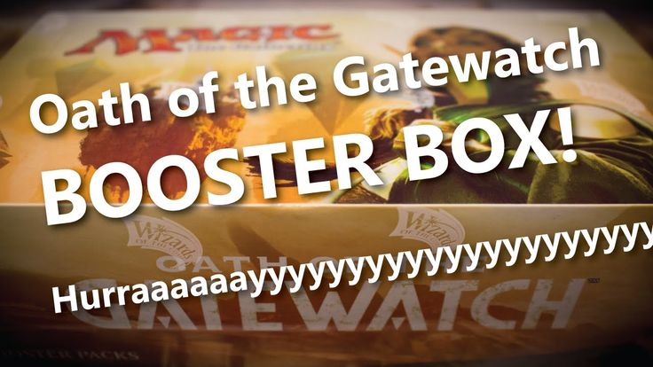 Oath of the Gatewatch MTG Booster Box Opening - Magic: the Gathering