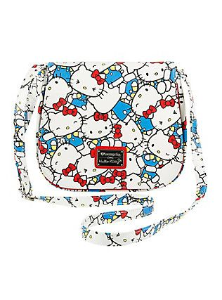 Loungefly Hello Kitty White Crossbody Bag,