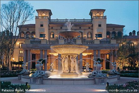 Monte Casino in Johannesburg - biggest and coolest mal i've ever been to - 2006
