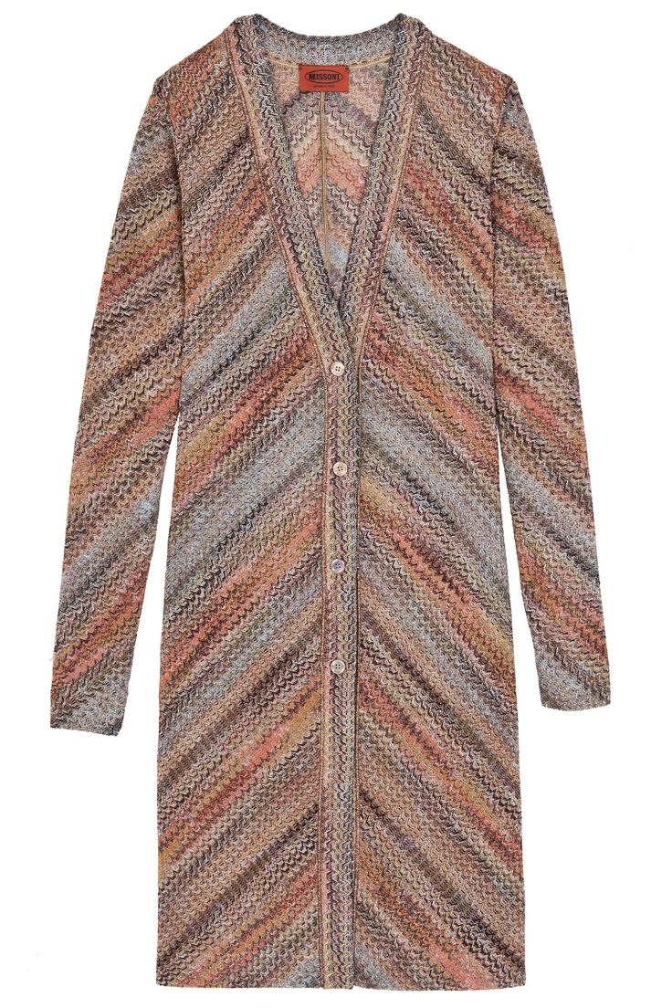 long Lurex Cardigan By MISSONI @ http://www.boutique1.com/