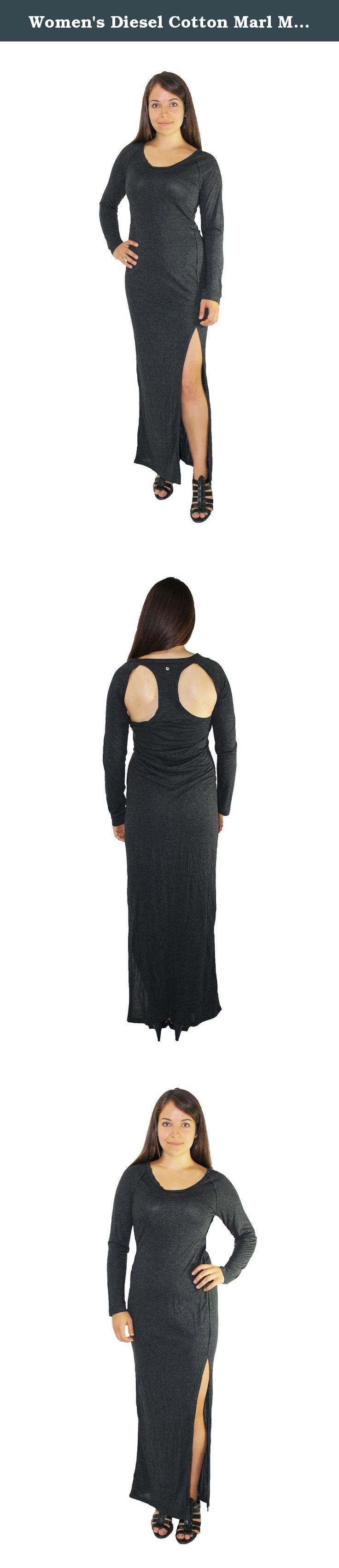 Women's Diesel Cotton Marl Maxi Dress with Back Cut-outs and Slit (grey). In 1978 Rosso was working for a clothing manufacturer called Moltex, which was owned by Adriano Goldschmied. He used a loan from his father to buy a 40% holding in the company, which changed its name to Diesel, and marketed jeans under the Diesel brand and many others. Rosso bought out Goldschmied's interest in the Diesel brand name in 1985 for US$500,000.[1] Rosso has said that he learned marketing from the US...