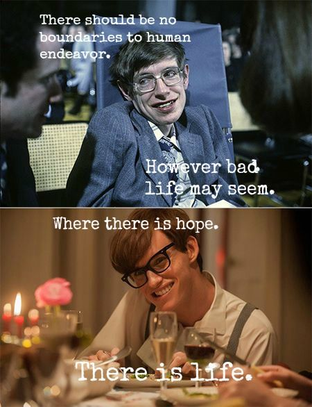 eddie redmayne stephen hawking comparison. the theory of everything eddie redmayne stephen hawking quote comparison g