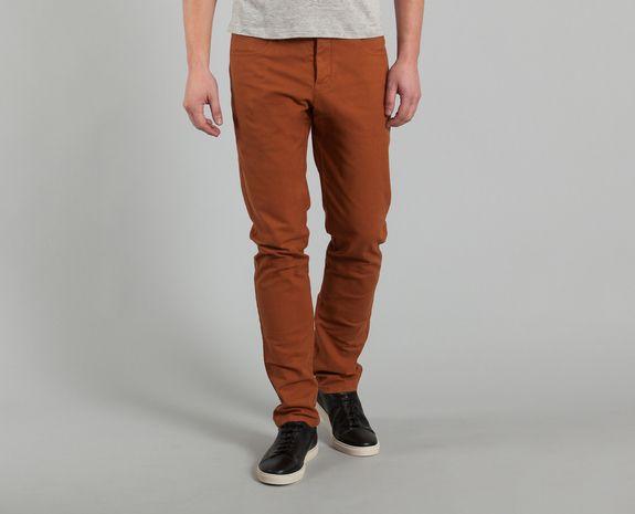 Pantalon Vincent Rouille Patrons en vente chez L'Exception