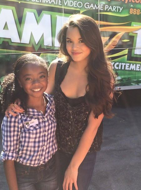 Photos: Paris Berlec With Skai Jackson