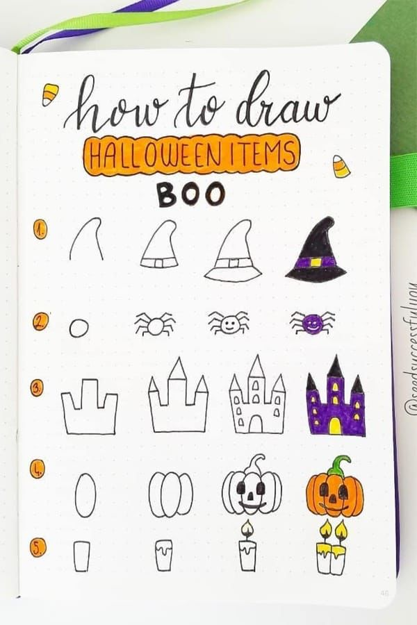 Finder is committed to editorial independence. Best Bullet Journal Doodle Ideas For Halloween & Fall 2021 - Crazy Laura | Bullet journal ...
