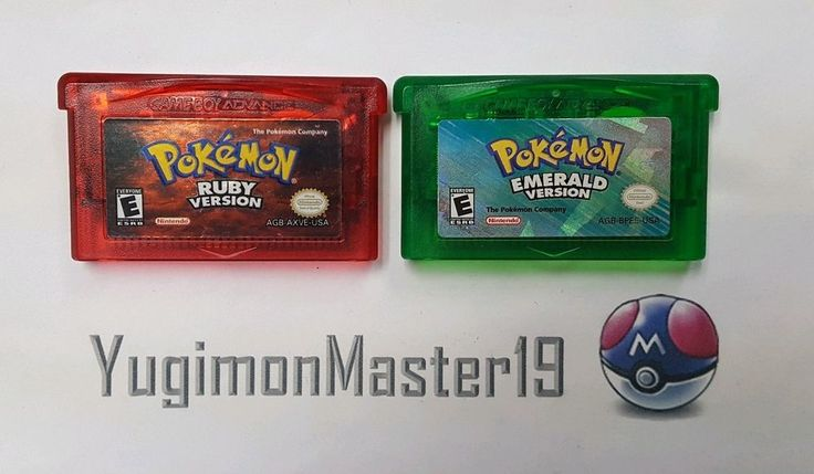 Pokemon Ruby and Emerald Version for Nintendo GBA with New Batteries: $59.95 End Date: Friday Mar-2-2018 17:33:52 PST Buy It Now for only:…