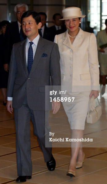 Princess Masako, Oct. 4, 2002
