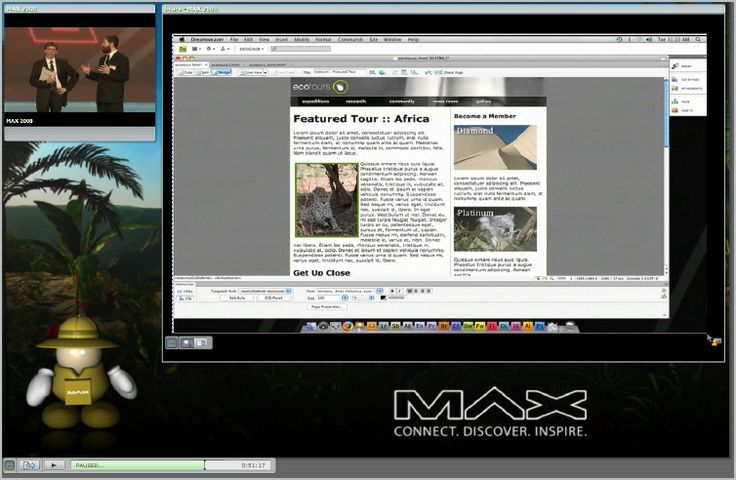 Simulcasting a Live Event to a Remote Audience Using Connect Pro - Adobe Connect User Community