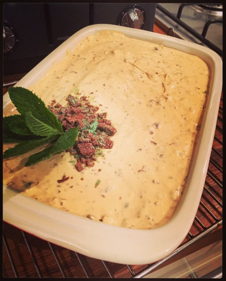 The Winner is always Peppermint Crisp Pudding… – the pink scoop