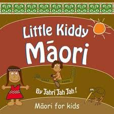 Little Kiddy Maori is a great picture book to learn the basics of te reo Maori. It covers basic greetings, body parts, animals, family, numbers, alphabet, colours, farewells and more.