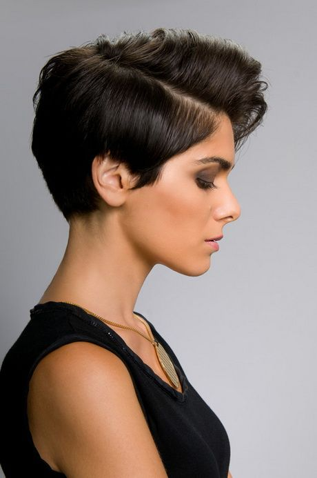 sexy and feminine short hair