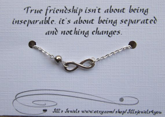 Quotes About Friendship Gifts : Best friend friendship charm bracelet gift