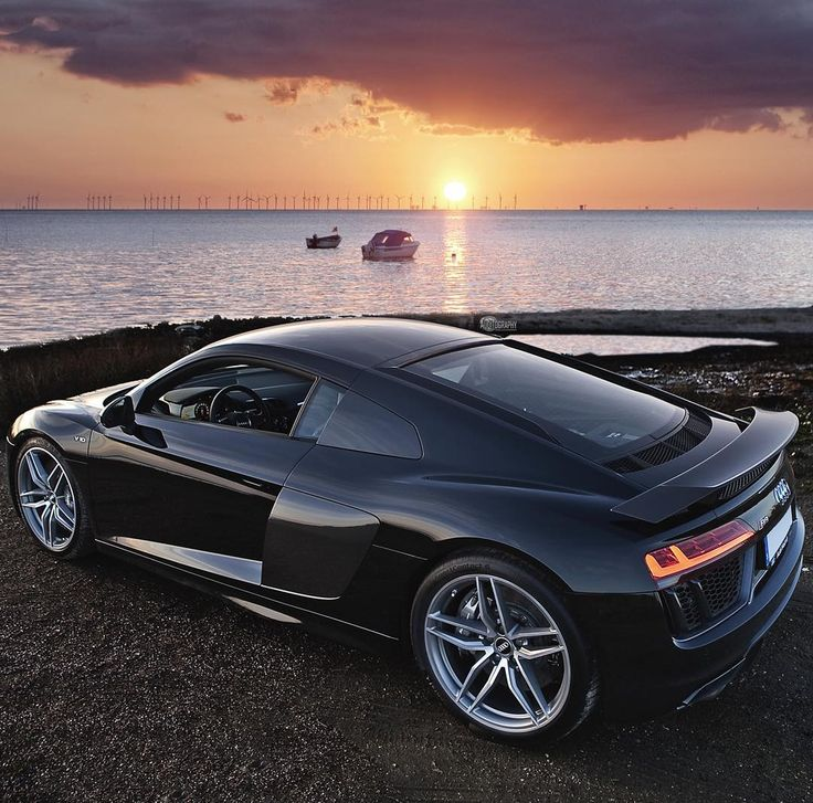 The updated R8 lines shine in the Scandinavian sunset.  Car: 2016 @Audi R8 V10 Plus (610hp V10 5.2 NA) Performance: 0-100kmh(62mph): 2.87seconds (tested) 3.2 seconds (official) Color: Mythos black metallic  Location: Malmö Sweden Facebook: http://ift.tt/1kfixFO Camera: Canon Eos 5D Mark II / 24-70  Thanks to: Audi Malmo (@audimalmohbg)  Remember ALL my photos are available on my popular Facebook page where you can download them in their high quality.  #audi #r8 #v10plus #v10 #plus…