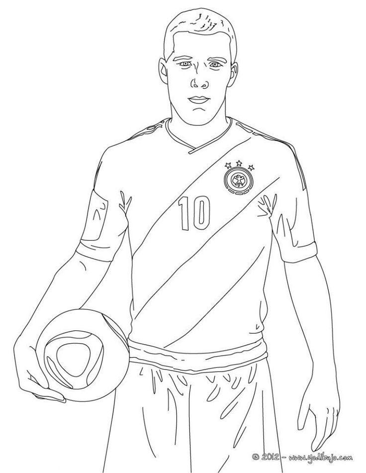 futbolistas para colorear in 2020  sports coloring pages