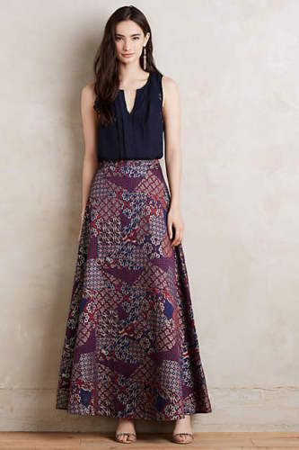 ANTHROPOLOGIE-Brocade-Ball-Skirt-by-HD-in-Paris-10-12-Retail-178
