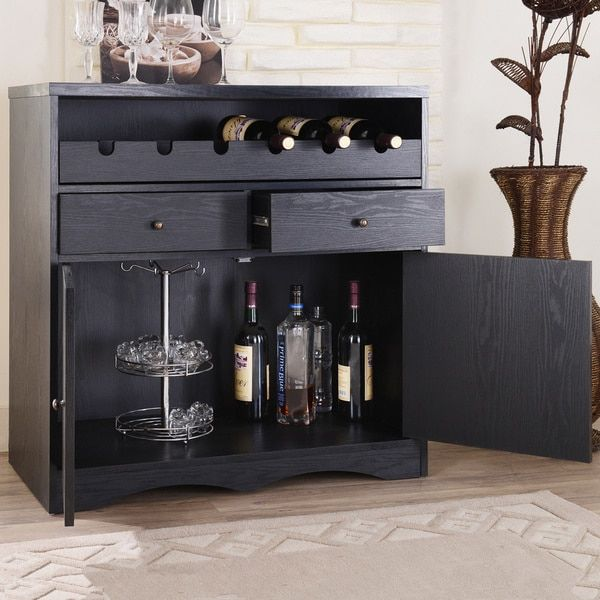 Furniture of America Transitional Storage Bar/ Buffet