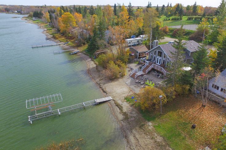 Bailey Homes cottage RTM, the Greenville, at Sandy Lake, Manitoba.