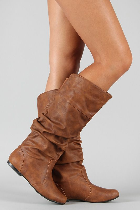 Lots of cute, cheap boots on this website!: Brown Leather Boots, Knee High Boots, Shoess, Cheap Fall Clothing, Cheap Shoes, Cheap Boots, Fall Boots, Brown Boots, Cute Clothing