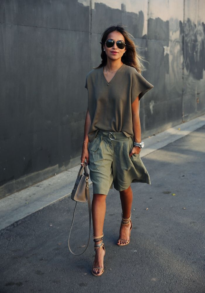 Color militar... me encanta!!