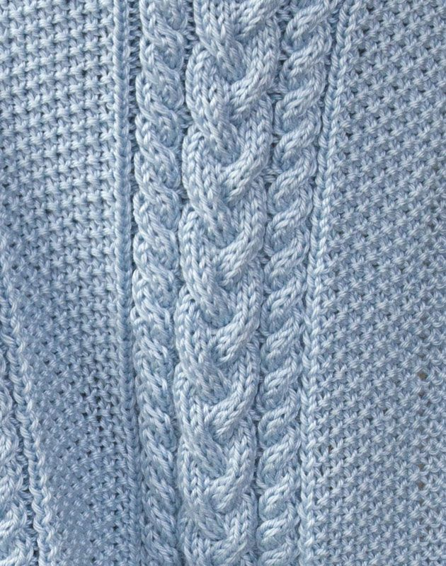 Caron International | Free Project | Little Boy Blue Baby Blanket