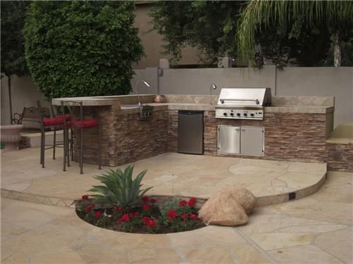 80 best patio/outdoor bbq ideas images on pinterest | backyard ... - Bbq Patio Ideas
