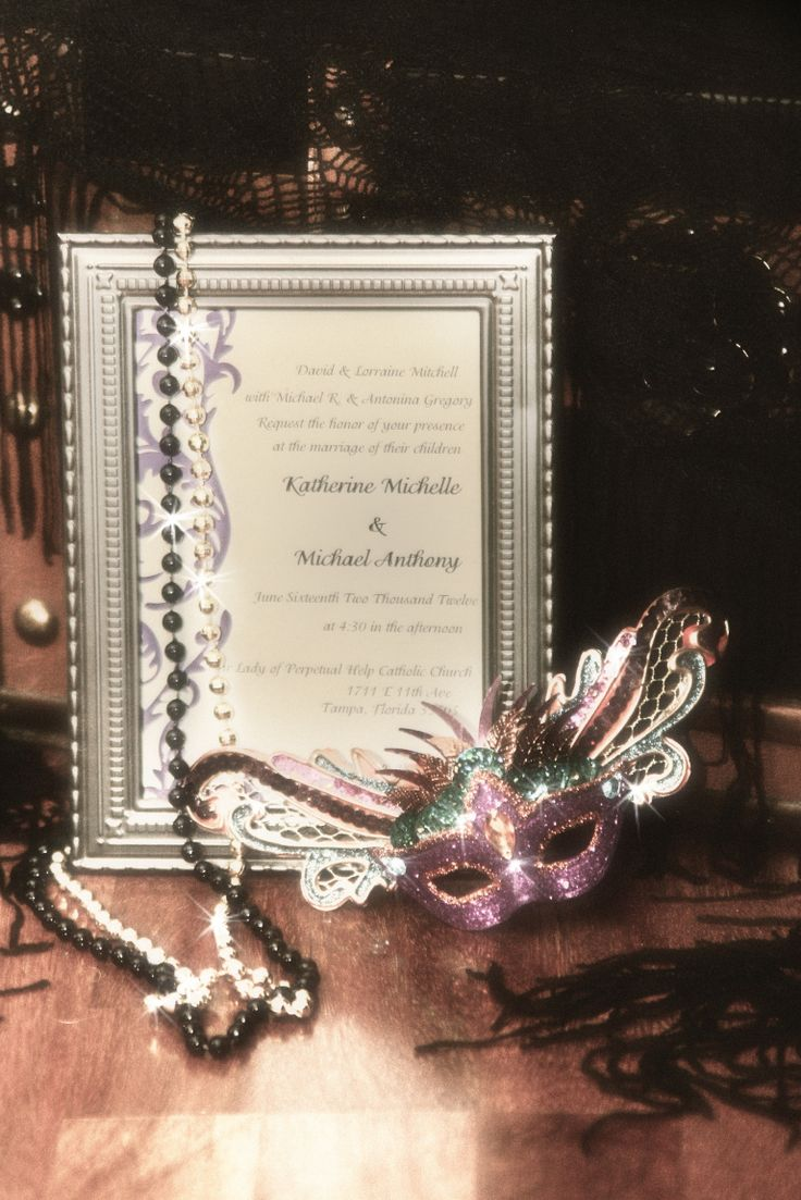 125 best New Orleans Themed Wedding images on Pinterest | Masquerade ...