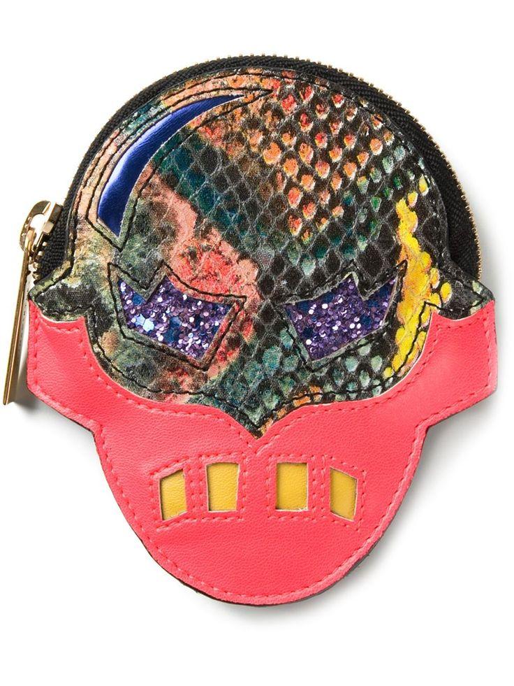 Stella McCartney, appliqué mask purse