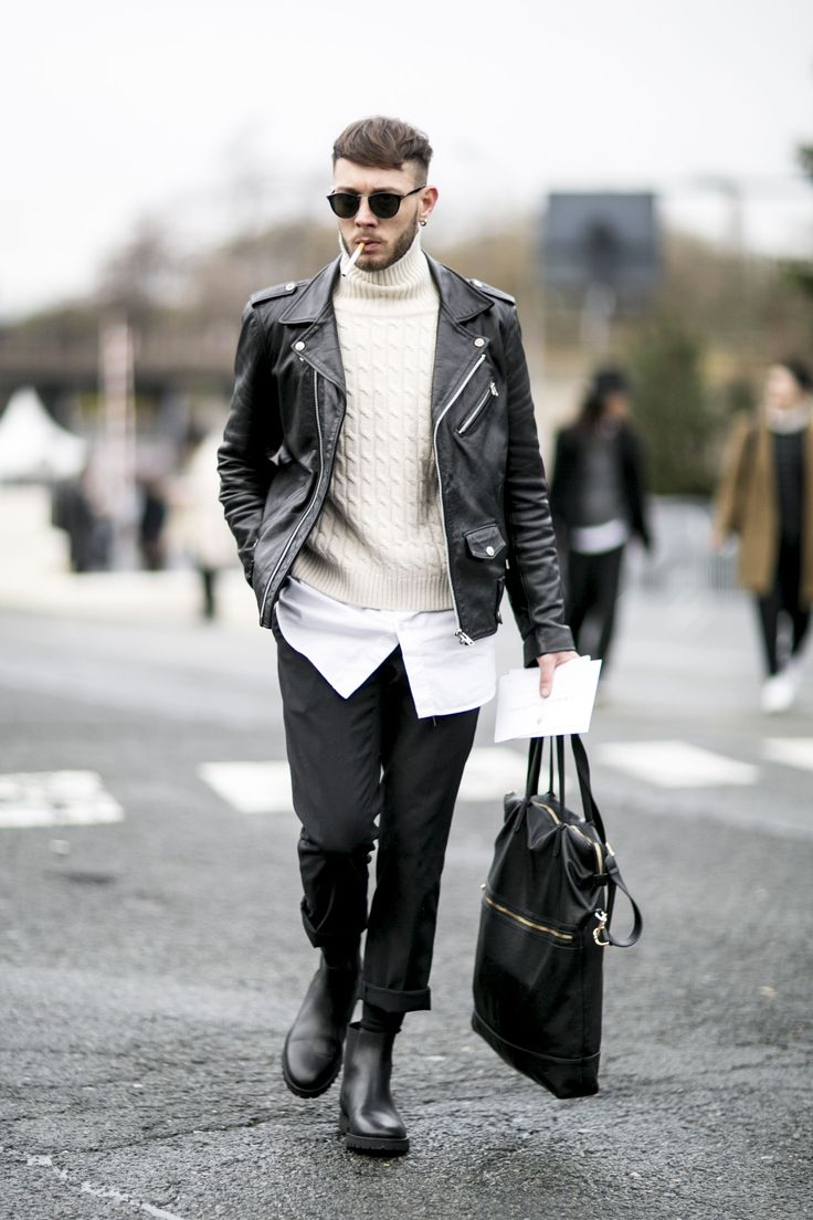 Seems whatever you wear is a new trend. Paris street style. #menfashion #menstyle #streetstyle #streetfashion #fashionstyle