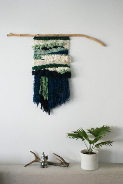 tkana dekoracja | kilim | wallhanging | no.3 - slowtextiles - Dekoracje