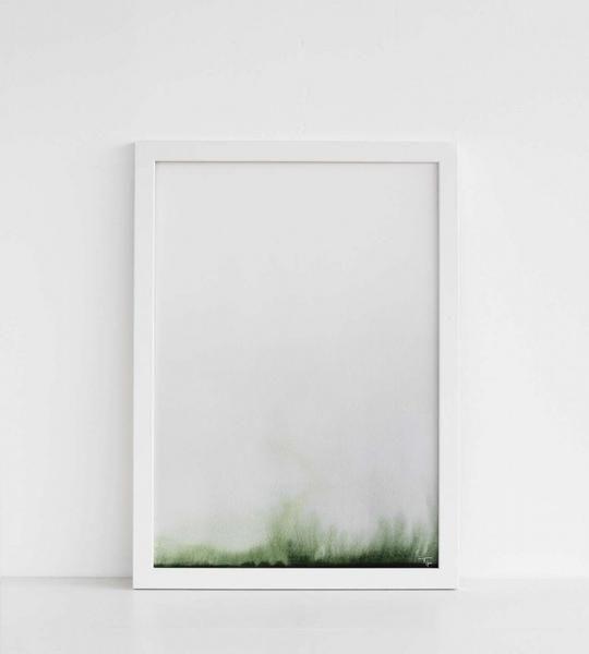 Trine Holbæk | Art Print | Pure Green