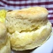 Chicken Whisperer's fav Buttermilk Biscuits: Mom's Buttermilk Biscuits Only mix the batter enough to moisten everything... do not knead or over mix or they will be tough.