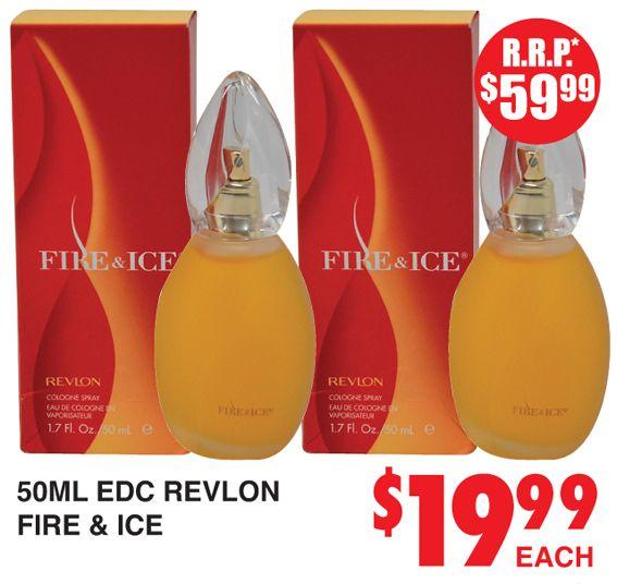 Perfume Revlon Fire & Ice http://dimmeys.com.au