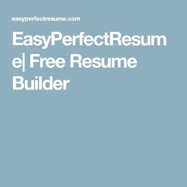 Best 25+ Free resume builder ideas on Pinterest Resume builder - automatic resume builder