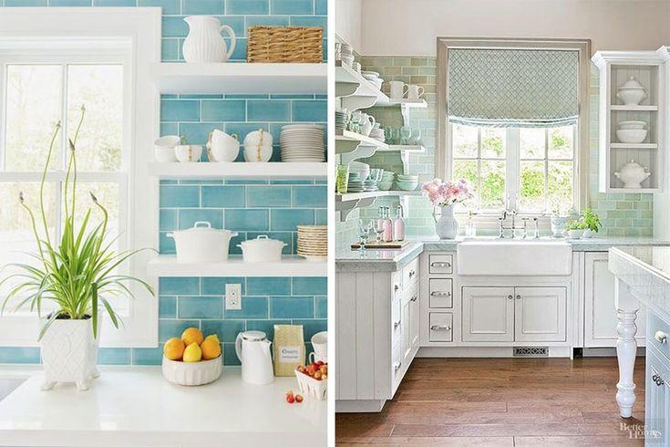▷🥇Las 10 Mejores Ideas de Decoración para COCINA Vintage【2020】 Checkered Floors, Kitchen Prints, Decorating Kitchen, Kitchens, Cuisine Vintage, Antique Armoire, Houses, Sailor