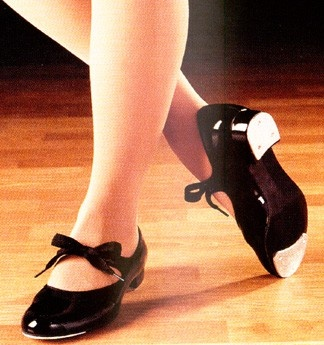 I took tap dancing lessons from age 5 through high school and never tired of it. Just looking at these beautiful shoes, makes me want to get up and try it again. Just the tap shoes, themselves, are a joy!