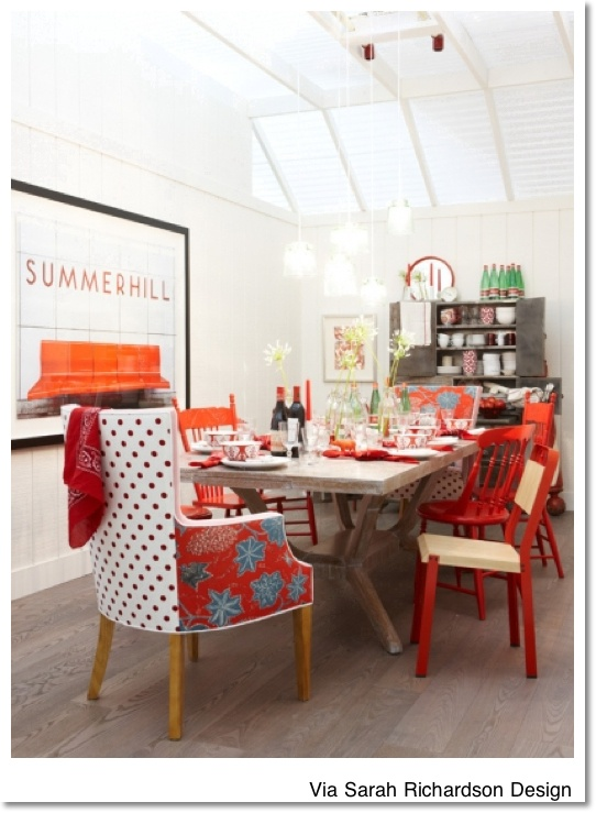 19 best Red, Red Dining Room images on Pinterest | Red dining ...