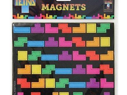 Para divertir os fãs de tetris: o ímã de geladeira perfeito.   38 itens de cozinha que todo nerd vai amar
