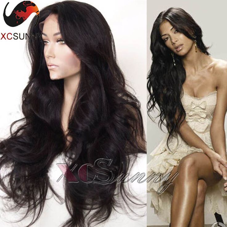 Find More Human Wigs Information about Long hair Wavy Lace Front Wigs full lace virgin brazilian wigs for black women 8 26inches Glueless Full Lace Human Hair Wigs,High Quality wig mannequin,China wig center Suppliers, Cheap wig bun from xcsunny wigs on Aliexpress.com