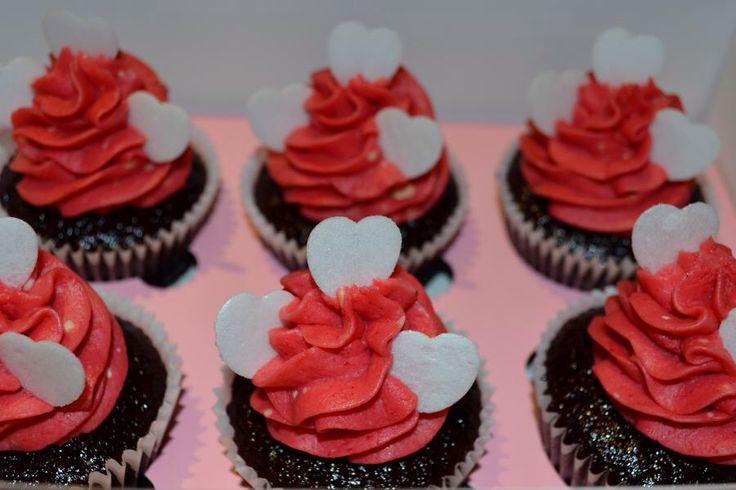 Chocolate and Rasberry Cupcakes